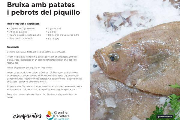 El peix del mes – Bruixa – Febrer 2021