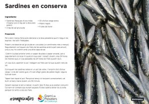 El peix del mes - Abril 2021 - Sardina