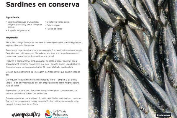 El peix del mes – Abril 2021 – Sardina