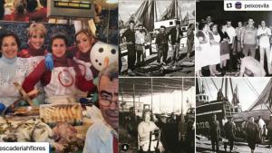 Descobrim la història de les peixateries en imatges