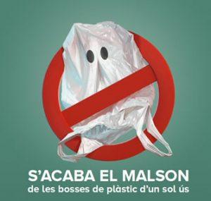 Campanya sobre la prohibició de bosses de plàstic d'un sol ús