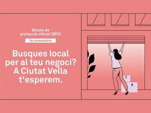 Tercera convocatòria de Baixos de Protecció Oficial per obrir-hi comerç de proximitat a Barcelona ciutat