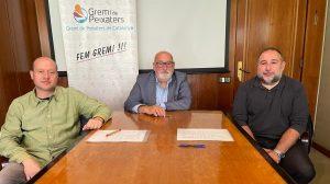 Signatura del Conveni Col·lectiu de Treball del Comerç de Peix Fresc i Congelats de Barcelona i Província